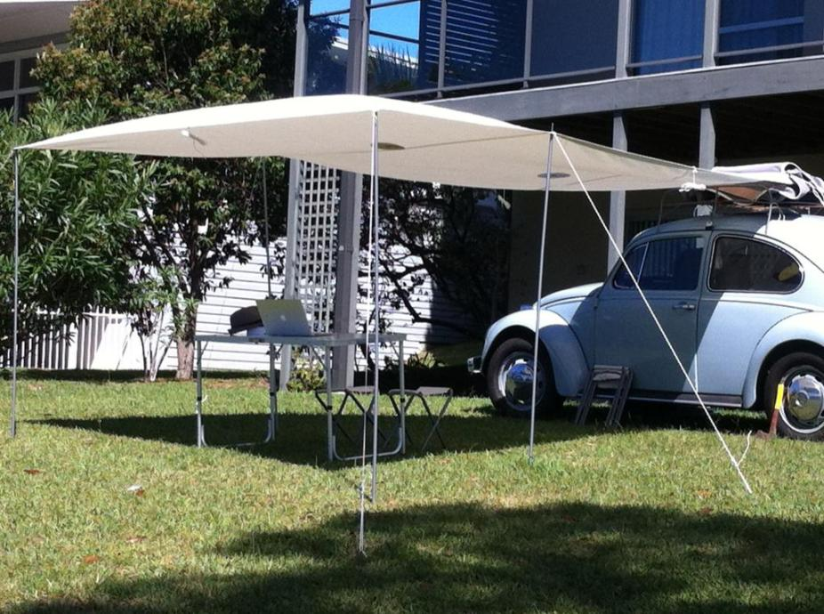 Custom made North Sails Awning