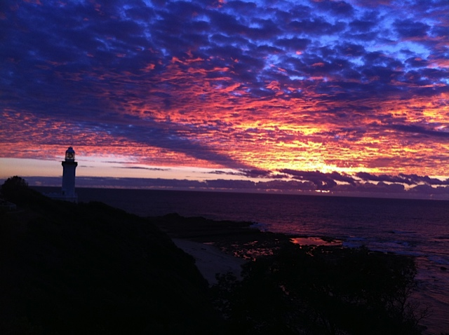 Sunrise at Norah Head Lighthouse