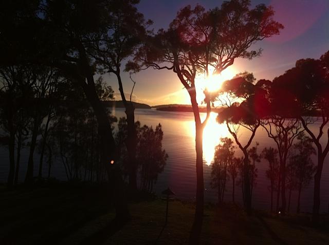 Sunrise at Silverwater