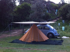 Camping at RR