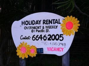 Holiday rental