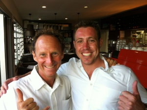 "An past rehab client -Dan  n me at tackas n mea""s wedding - Great bloke"