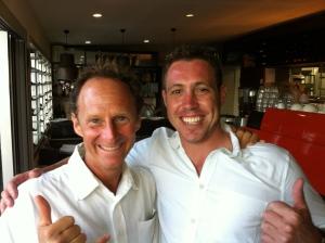 "An past rehab client -Dan  n me at tackas n mea""s wedding - Great bloke"