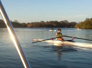 rowing coaching @ noosa