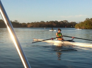 rowing coaching @ noosa