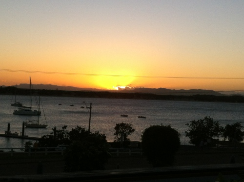sun set @cooktown