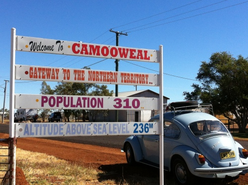 cursing through camooweal- population now 311