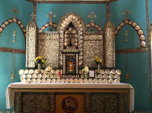alter at beagle bay church