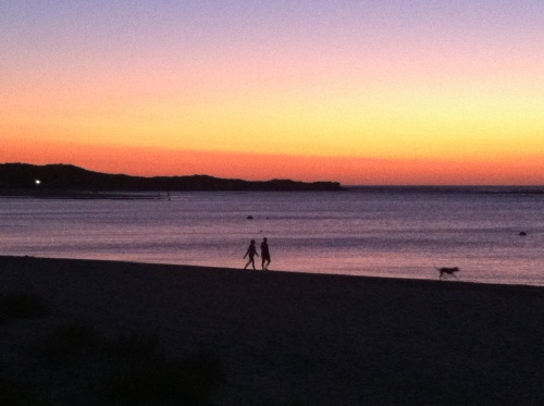 sunset kalbarri