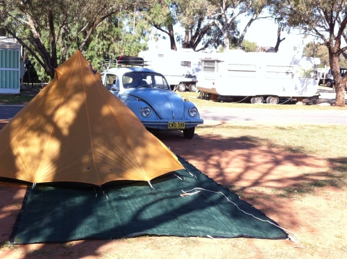 dongara- camping crowd- great place