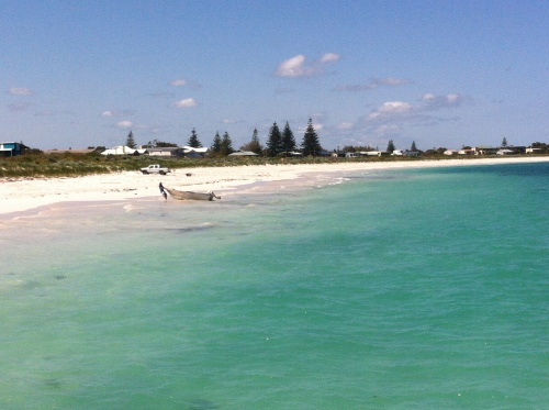 the fantastic beach at leno