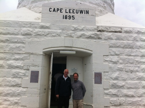 can you re angle this pls - myself and ray the tour guide at the light house