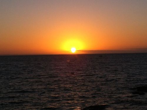 sunrise at flinders bay