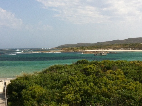 peaceful bay- protected but windy - stunning