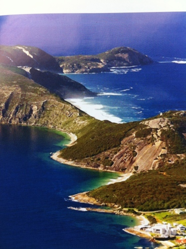 how albany bay looks like when the sun is really out - amazing
