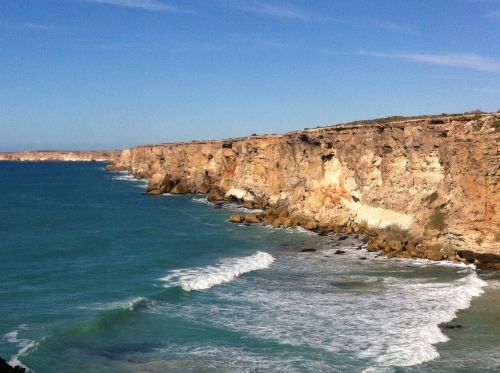 the end of the great austrailin bights cliffs - nullabor rd house