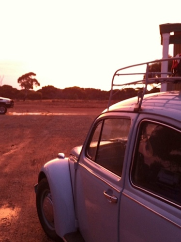 end of first day on nullarbor