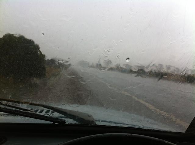 rain albany to esperence