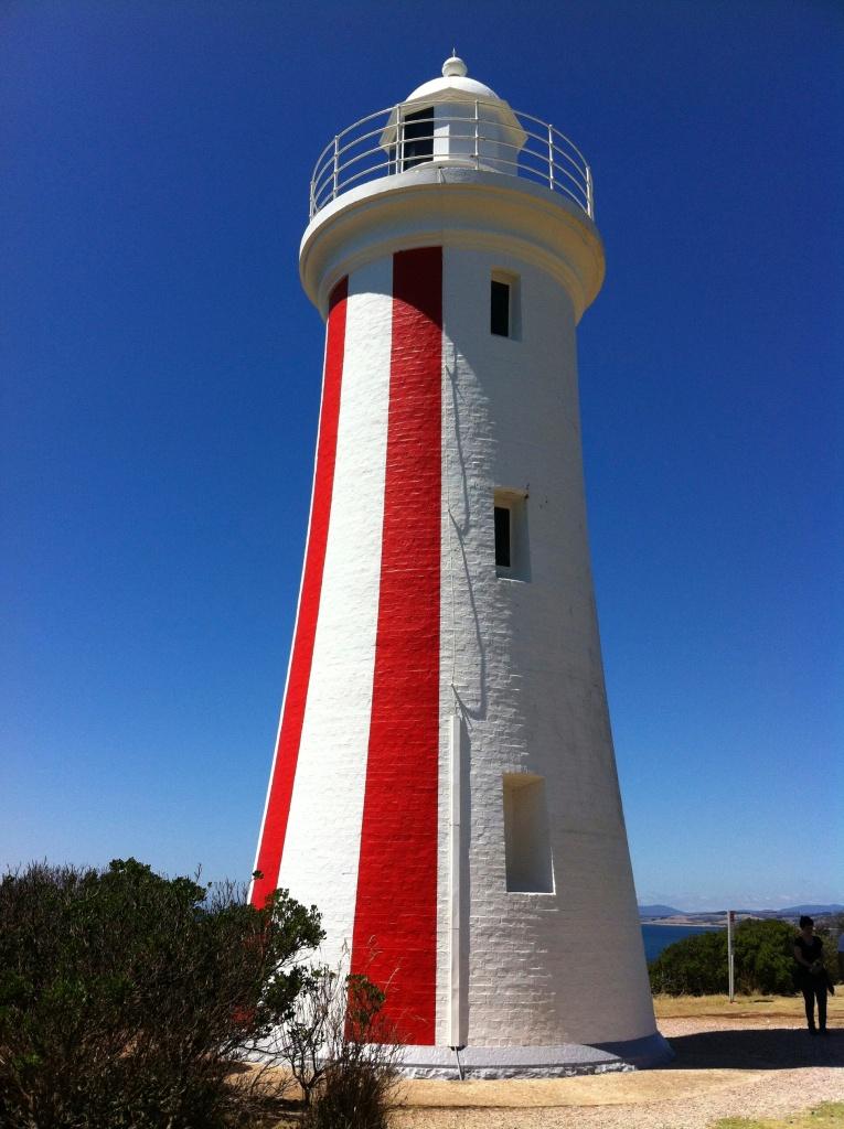 tassie is full of lighthouses