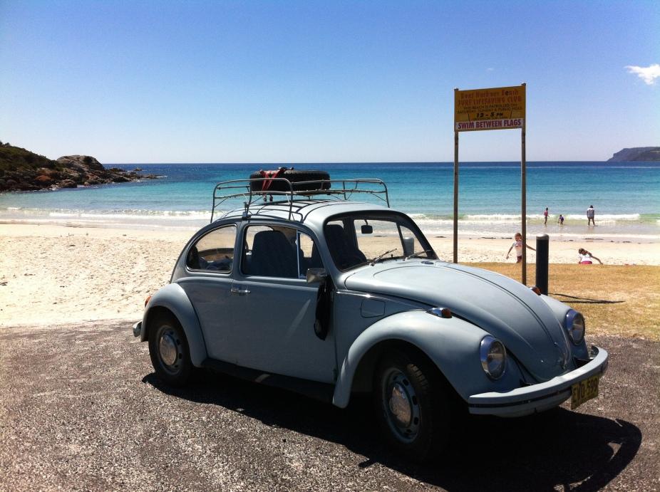 cruising the beaches of tassie