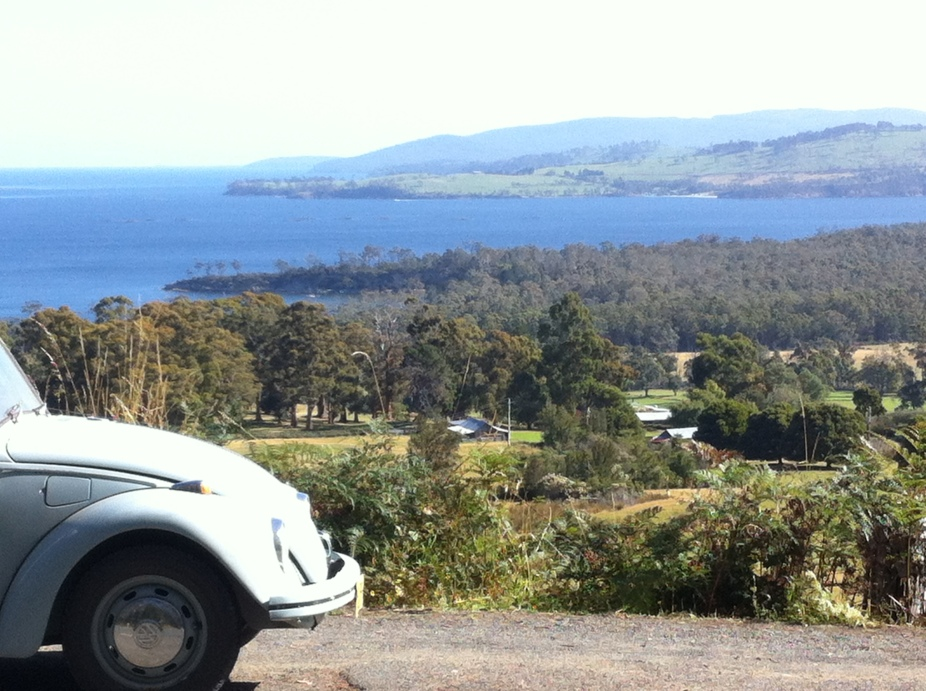 on my way to huonville