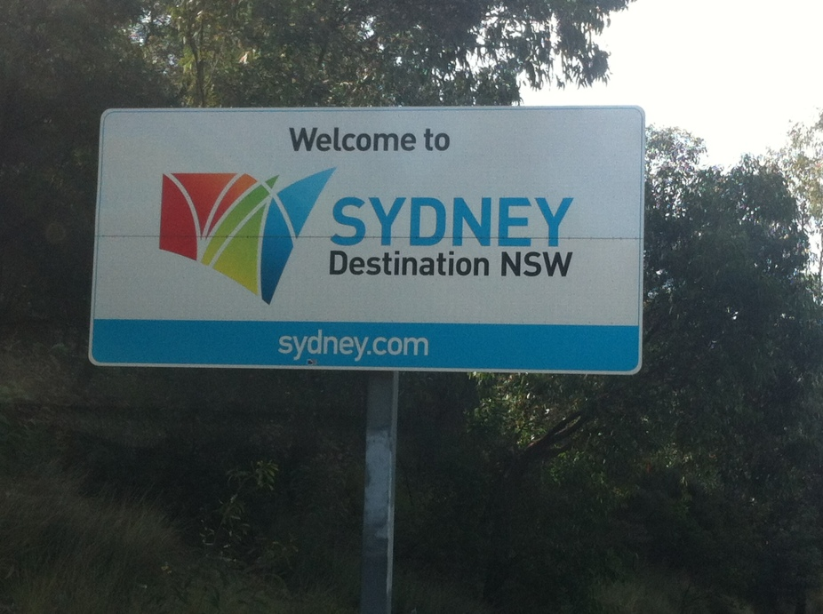struth im back in syd